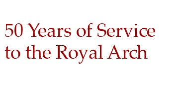 E Comp Dudley Pope – Celebrating 50 years in Royal Arch