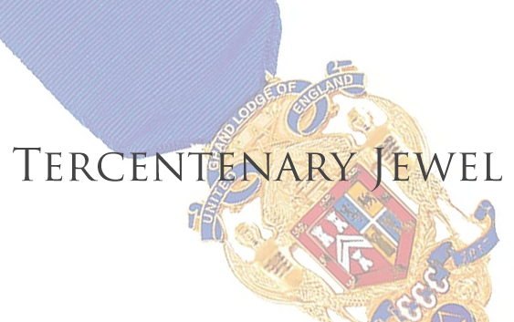 Tercentenary Jewel in Royal Arch Chapters